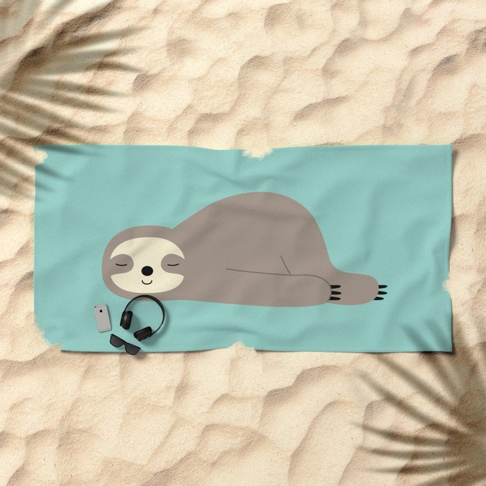 Do Nothing Beach Towel
