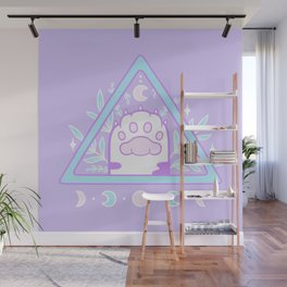 Witchy Cat Paw 01 Wall Mural