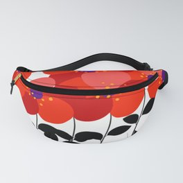 flowers series Fanny Pack