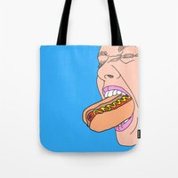 shopping Tote Bags featuring Shopping by Tyler Spangler