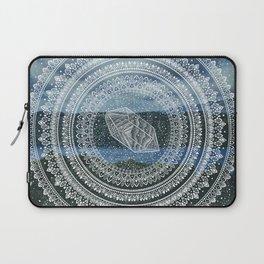 Crystal Mandala - Lake Windermere Landscape Laptop Sleeve