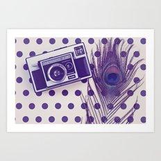 InstaLove Art Print