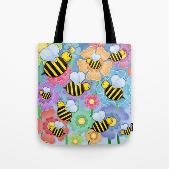 Busy Buzzers. Tote Bag