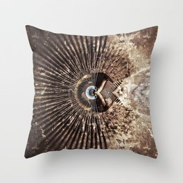 Geometric Art - WITHERED Throw Pillow