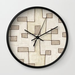 "Proto pattern n 1 ""toffee cake"" Wall Clock"