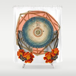 Cosmic Reiki Shower Curtain