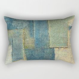 Rustic Rhino 2 Rectangular Pillow