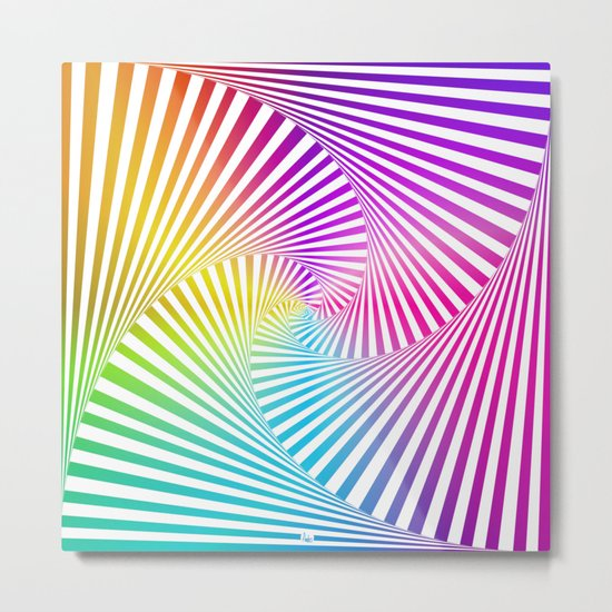Twista Colour Metal Print