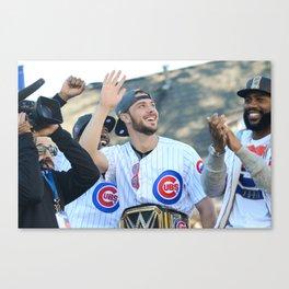 Kris Bryant - Chicago World Champion Canvas Print