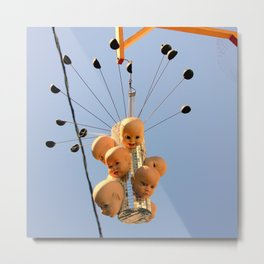 These Dolls Gave Great Head-s Metal Print