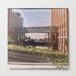 The High Line, New York Metal Print
