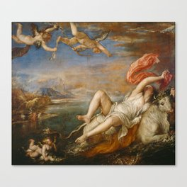 The Rape of Europa (Titian) Canvas Print