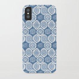 Diamond Blue iPhone Case