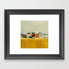 Pitch In Framed Art Print