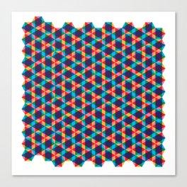 BP 78 Star Hexagon Canvas Print
