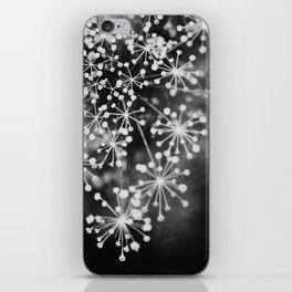 Dill In Black and White iPhone Skin