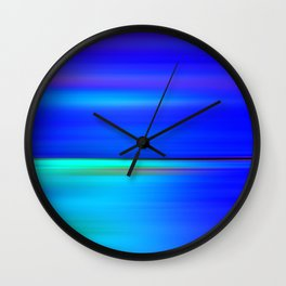Night light abstract Wall Clock