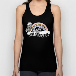 We're All Doomed But Whatever Unisex Tank Top