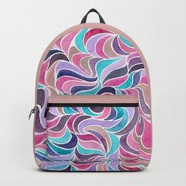 Currents - Aqua Rose Backpack