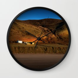 The Old Rectory at Rhossili Wall Clock