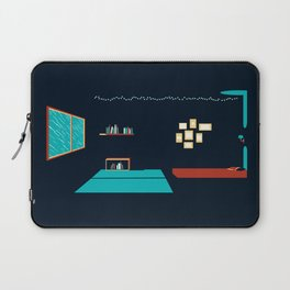 In a rainy day, a place to stay Laptop Sleeve