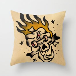 Skate Calaka Throw Pillow