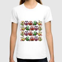 Owls Family T-shirt