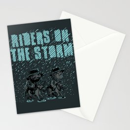 Riders on the Storm Stationery Cards