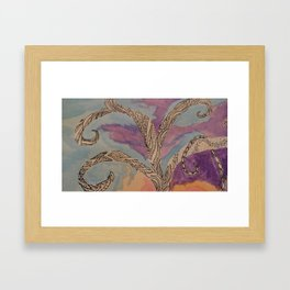 Treet Me Well Framed Art Print