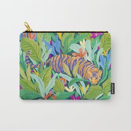 Colorful Jungle Carry-All Pouch