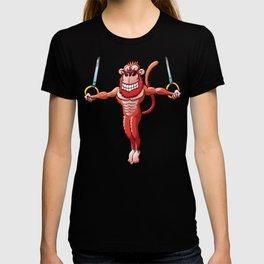 Olympic Flying Rings Monkey T-shirt