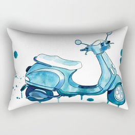 Scooter Away Rectangular Pillow