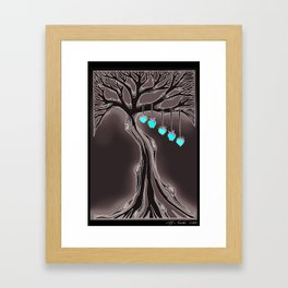 "Family Tree ""Gothic"" Framed Art Print"