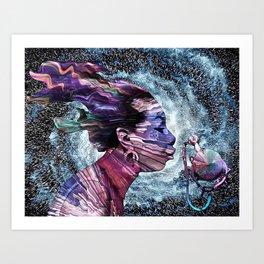 Priestess Of Soul Art Print