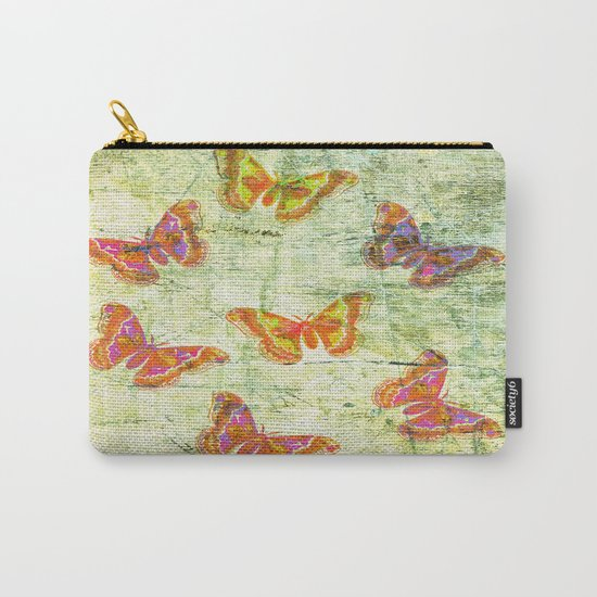 Butterfly Colours Carry-All Pouch