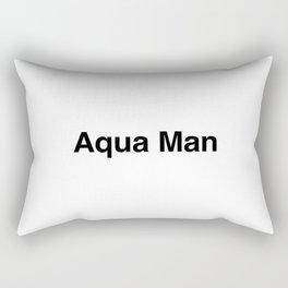 Aqua Man Rectangular Pillow
