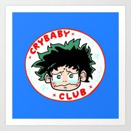 Crybaby Deku Art Print