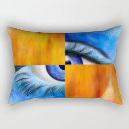 Ersebiossa V1 - hidden eye Rectangular Pillow