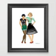 Fashion Journal: Day 27 Framed Art Print
