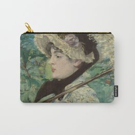 Edouard Manet - Jeanne (Spring) Carry-All Pouch