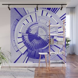 Futuristic abstract Wall Mural