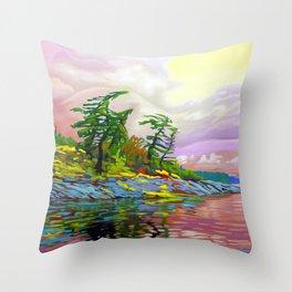 Wind Sculpture by Amanda Martinson Throw Pillow