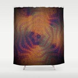 Greener Pattern ReTinted Shower Curtain