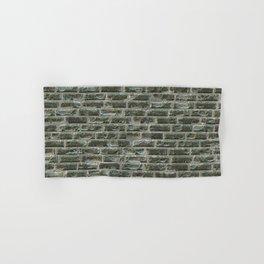 Ruined brick wall Hand & Bath Towel
