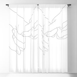 Pinky Promise Blackout Curtain