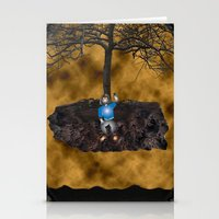 book cover Stationery Cards featuring Book Cover Illustration by Conceptualized