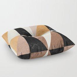Copper Geo Floor Pillow