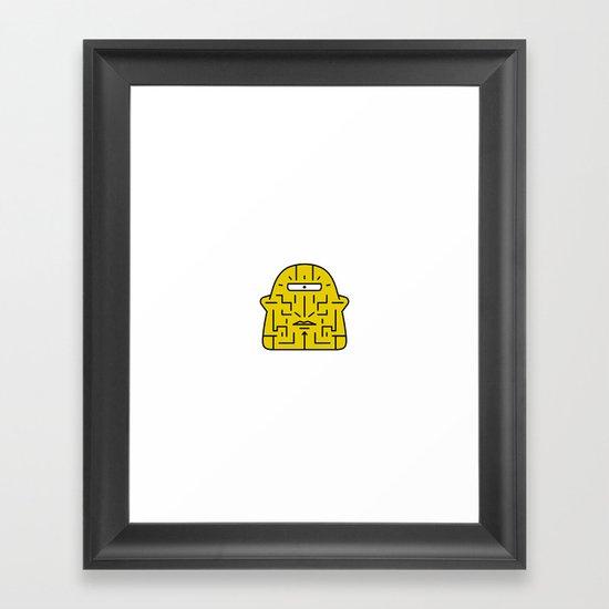 Arrogant Framed Art Print