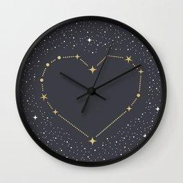 Heart Constellation Wall Clock