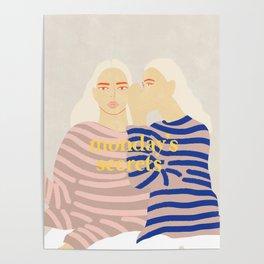Monday's Secrets Poster
